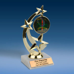 Horse Shoes Astro Spinner Trophy-0