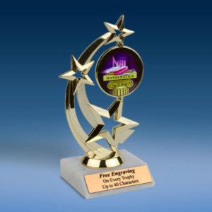 Math Astro Spinner Trophy-0