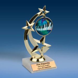 Music 2 Astro Spinner Trophy-0