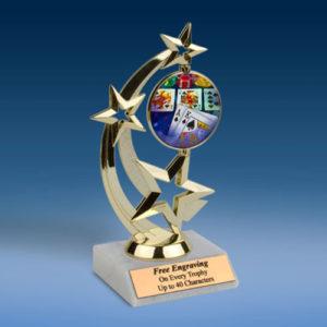 Poker Astro Spinner Trophy-0