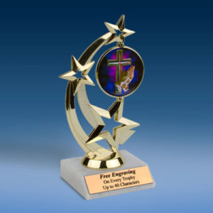 Religious Astro Spinner Trophy-0