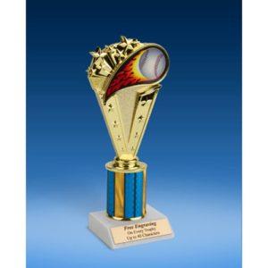 "Baseball Sport Flame Trophy 8"""