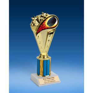 Hockey Sport Flame Trophy 8""