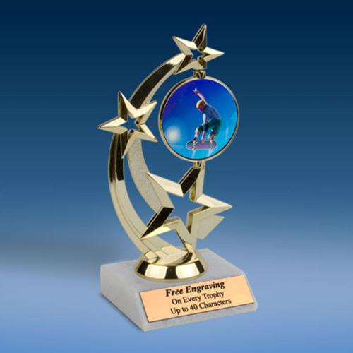 Skateboarding Astro Spinner Trophy-0
