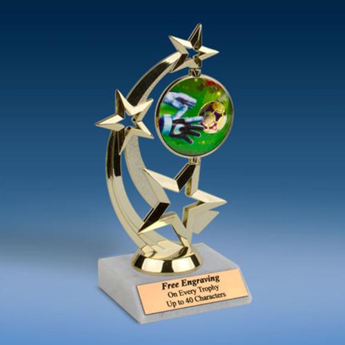 Soccer 3 Astro Spinner Trophy-0