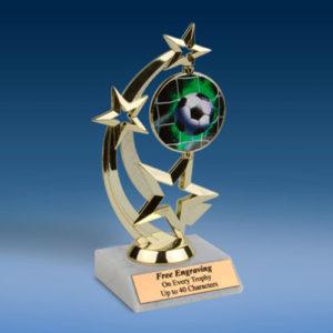 Soccer Astro Spinner Trophy-0
