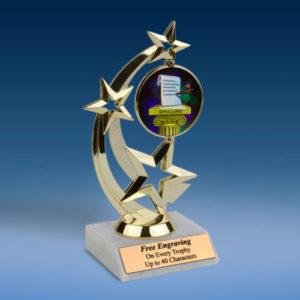 Spelling Astro Spinner Trophy-0