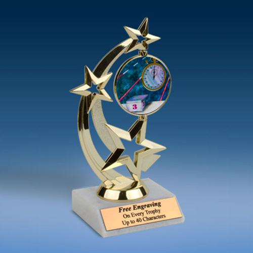 Swimming Astro Spinner Trophy-0