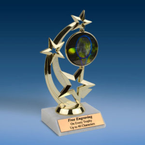 Tennis Astro Spinner Trophy-0