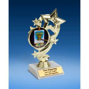 "Art Star Ribbon Trophy 6"""