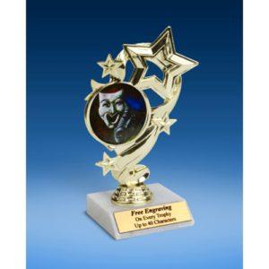"""Drama Star Ribbon Trophy 6"""""""