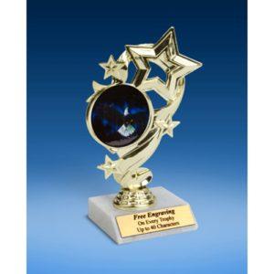 """Eagle Star Ribbon Trophy 6"""""""
