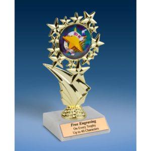 """10K Sports Starz Trophy 6"""""""