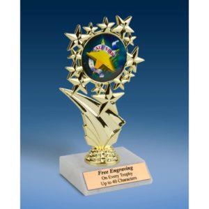 """All Star Sports Starz Trophy 6"""""""