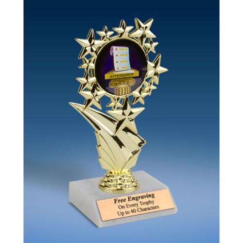 """Attendance Sports Starz Trophy 6"""""""
