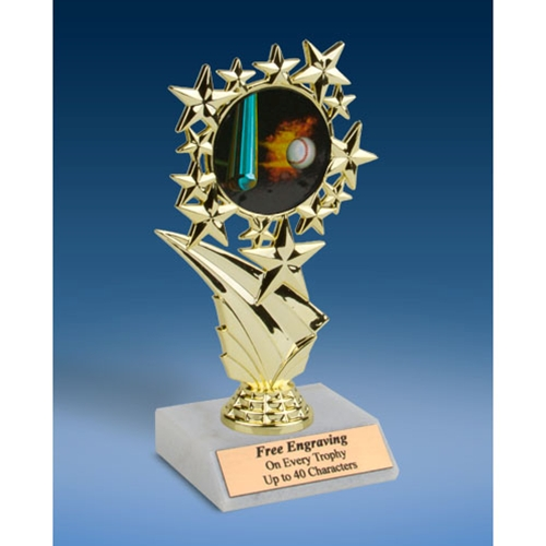 Baseball 1 Sports Starz Trophy 6""