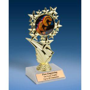 """Bodybuilding Sports Starz Trophy 6"""""""
