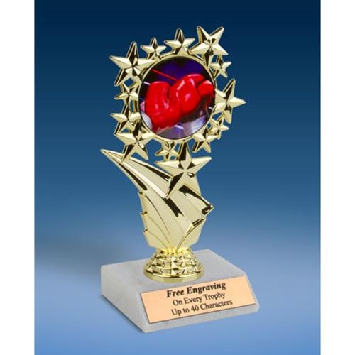 "Boxing Sports Starz Trophy 6"""
