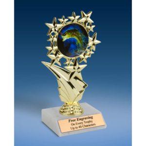 "Fishing Sports Starz Trophy 6"""