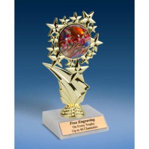 "Football 2 Sports Starz Trophy 6"""