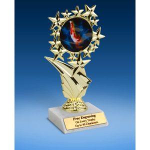 """Gymnastics (Male) Sports Starz Trophy 6"""""""