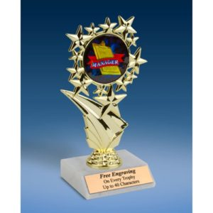 Manager Sports Starz Trophy 6""