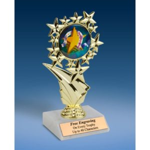 Most Improved Sports Starz Trophy 6""