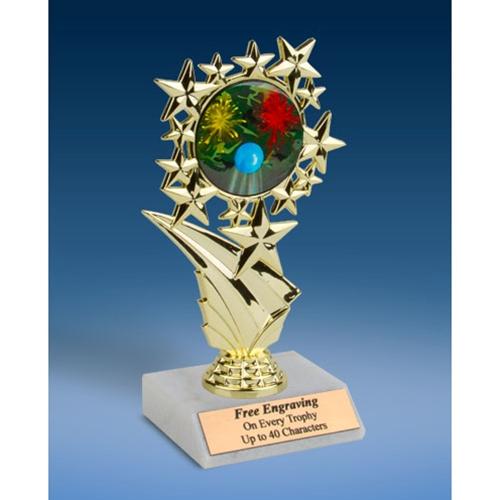 "Paintball Sports Starz Trophy 6"""