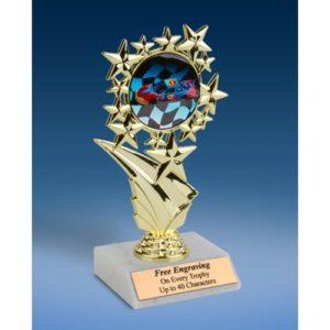 Racing Sports Starz Trophy 6""
