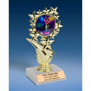 Rodeo Clown Sports Starz Trophy 6""