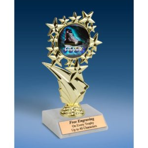 "Rollerblading Sports Starz Trophy 6"""