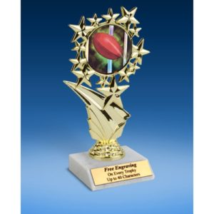 Rugby 1 Sports Starz Trophy 6""