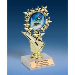 "Snowmobile Sports Starz Trophy 6"""