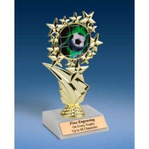 Soccer 1 Sports Starz Trophy 6""