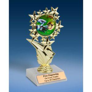 "Soccer 3 Sports Starz Trophy 6"""