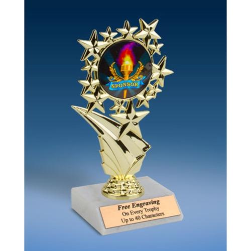 """Sponsor Sports Starz Trophy 6"""""""