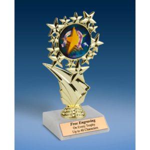 """Sportsmanship Sports Starz Trophy 6"""""""