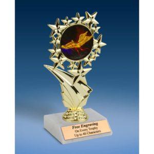 """Track Sports Starz Trophy 6"""""""