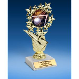 Volleyball Sports Starz Trophy 6""