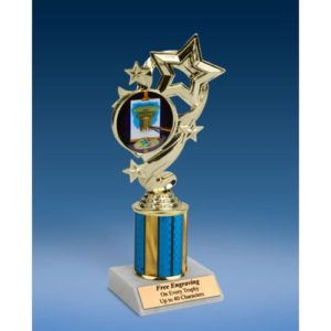 Art Star Ribbon Trophy 8""