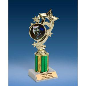 """Drama Star Ribbon Trophy 8"""""""