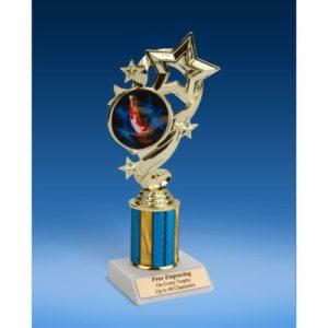 """Gymnastics (M) Star Ribbon Trophy 8"""""""