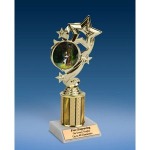"Hunting Star Ribbon Trophy 8"""