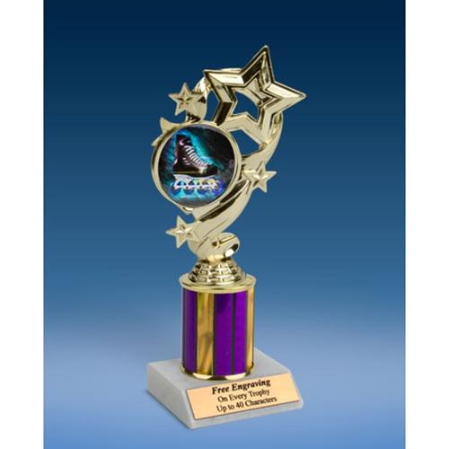 """Rollerblade Star Ribbon Trophy 8"""""""