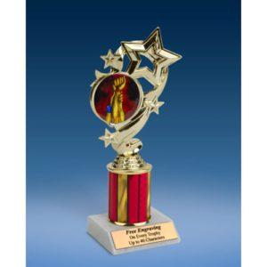 "Wrestling Star Ribbon Trophy 8"""