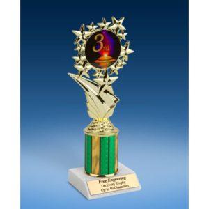 "3rd Place Sport Starz Trophy 8"""