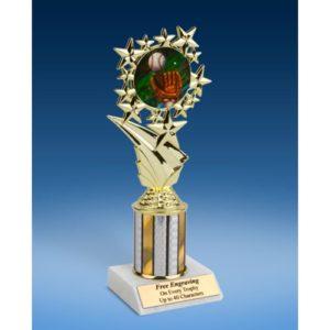"Baseball 2 Sport Starz Trophy 8"""