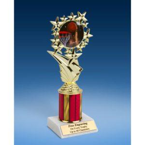 "Basketball 2 Sport Starz Trophy 8"""