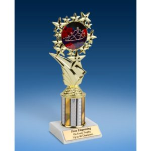 Beauty Queen Sport Starz Trophy 8""