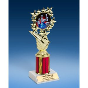 "Bowling 1 Sport Starz Trophy 8"""